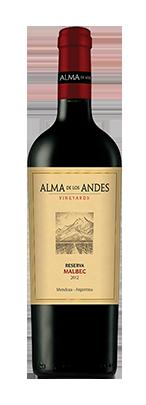Alma De Los Andes Malbec Reserve
